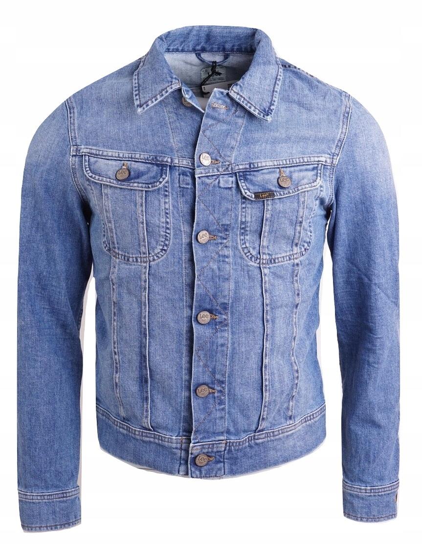 LEE L89CAPPN kurtka jeansowa niebieska M U12 6