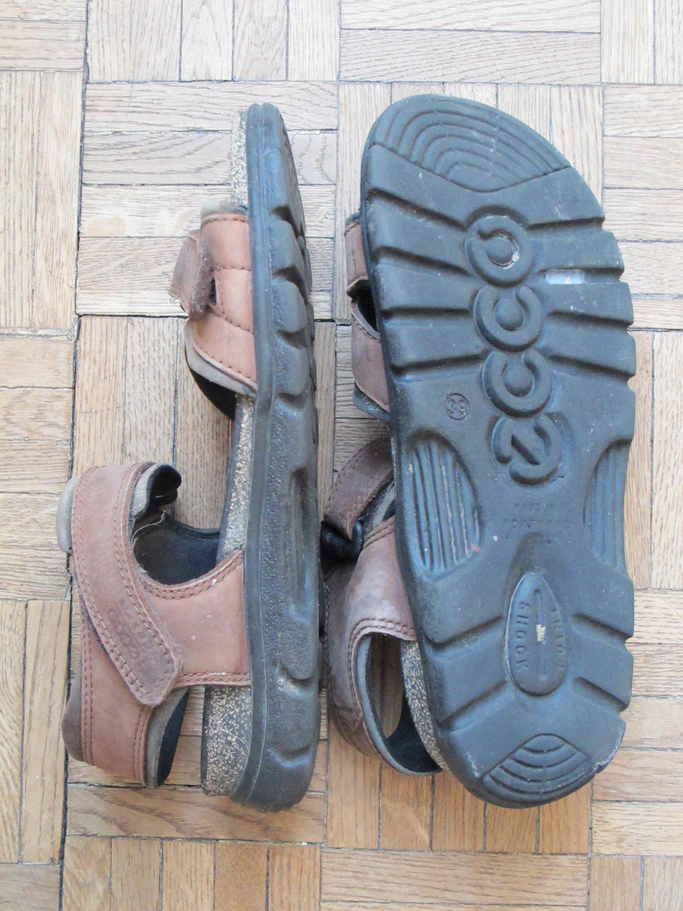 Sandały trekkingowe Ecco 39 25,5 pielgrzymka