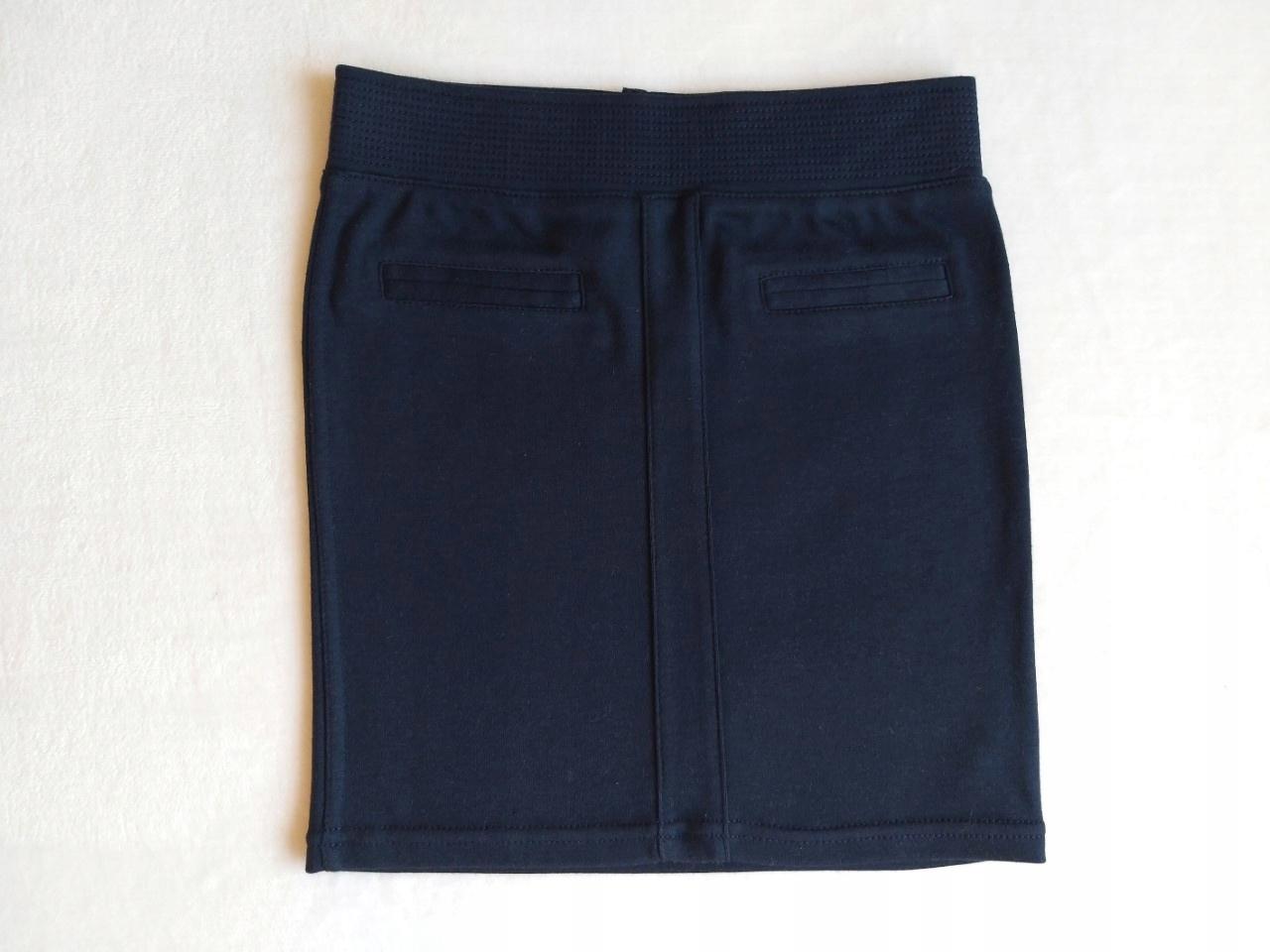 Granatowa spódnica 5.10.15., 110 cm