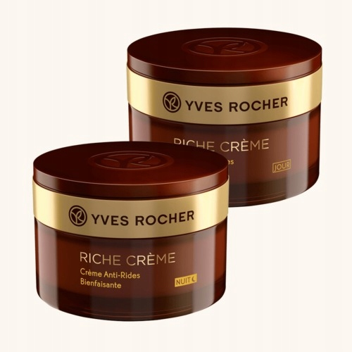 Yves Rocher Zestaw RICHE CREME krem dzień i noc