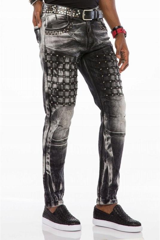 NOWOŚĆ!!! spodnie jeansowe Cipo&Baxx 30/34
