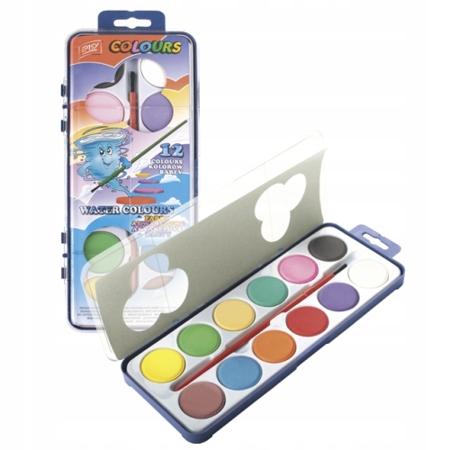 Akwarele Easy dla dzieci 12 kolorów