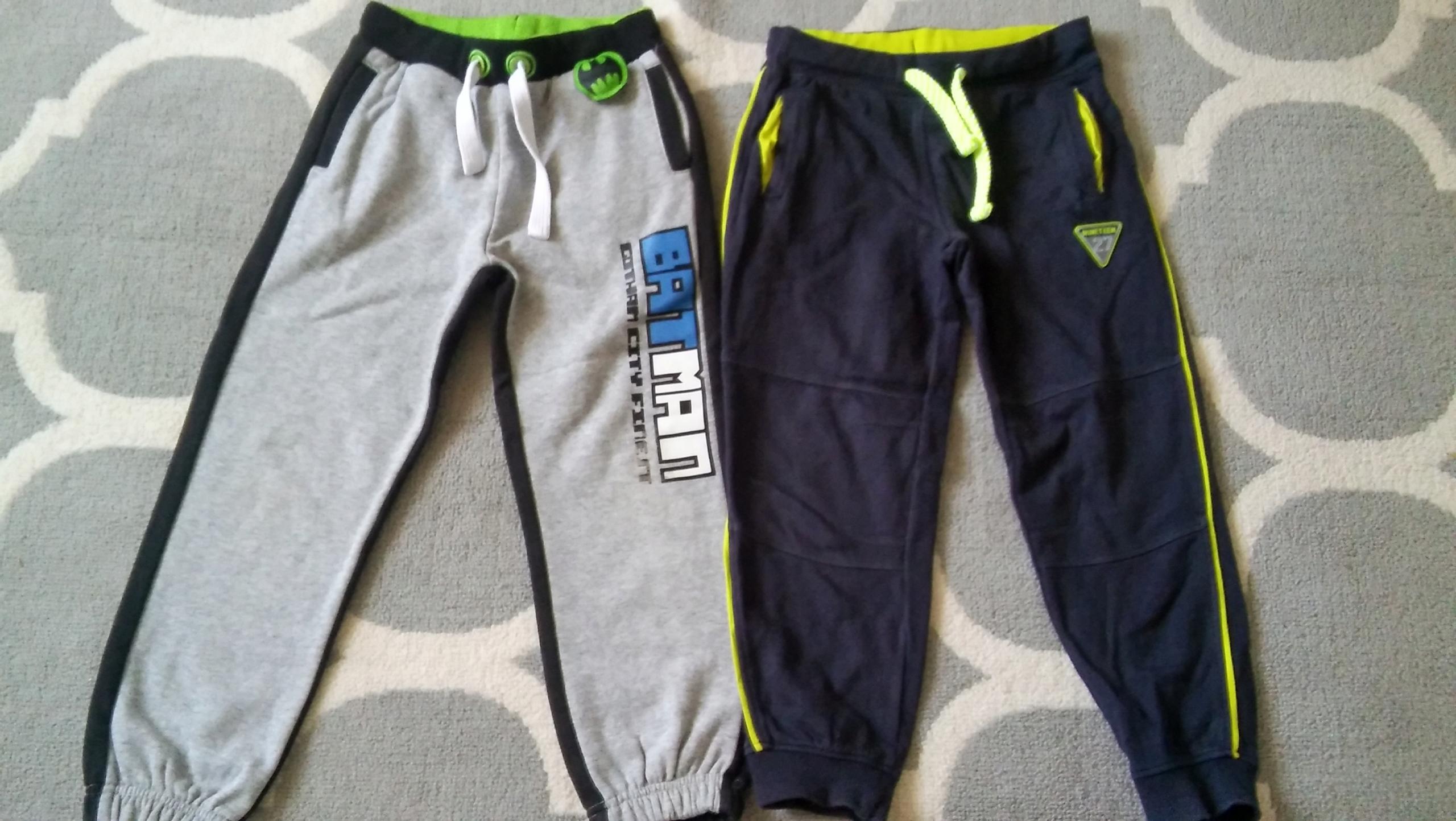 Spodnie dresowe F&F COOL CLUB BATMAN 122