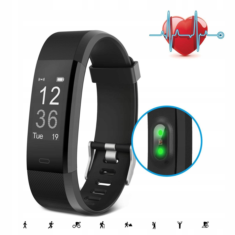 ANEKEN fitness tracker smartband HR 2 paski
