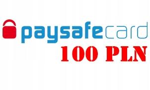 KOD PAYSAFECARD PSC - 100 PLN -