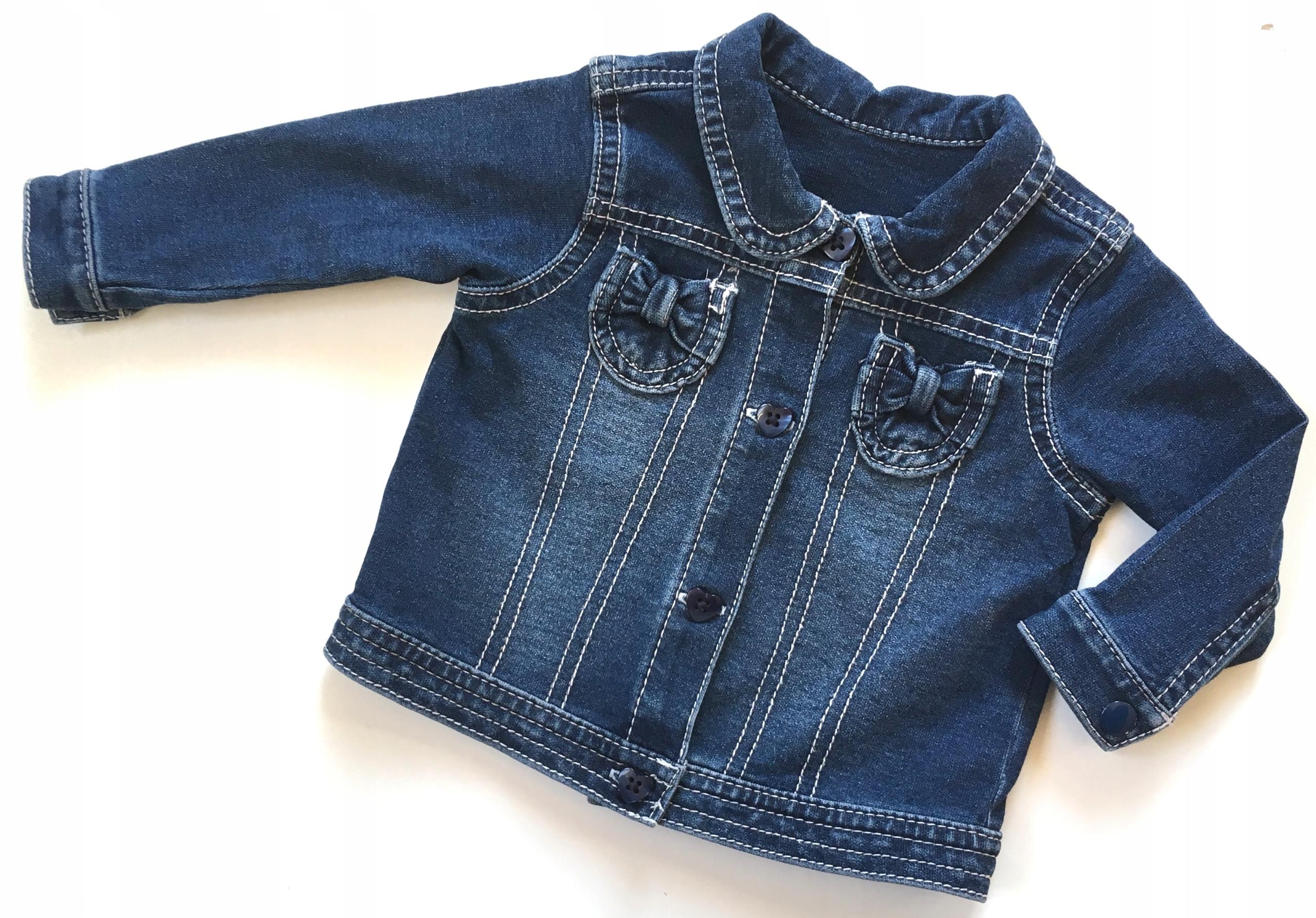 GEORGE kurteczka/bluza jeans 62/68 3-6m