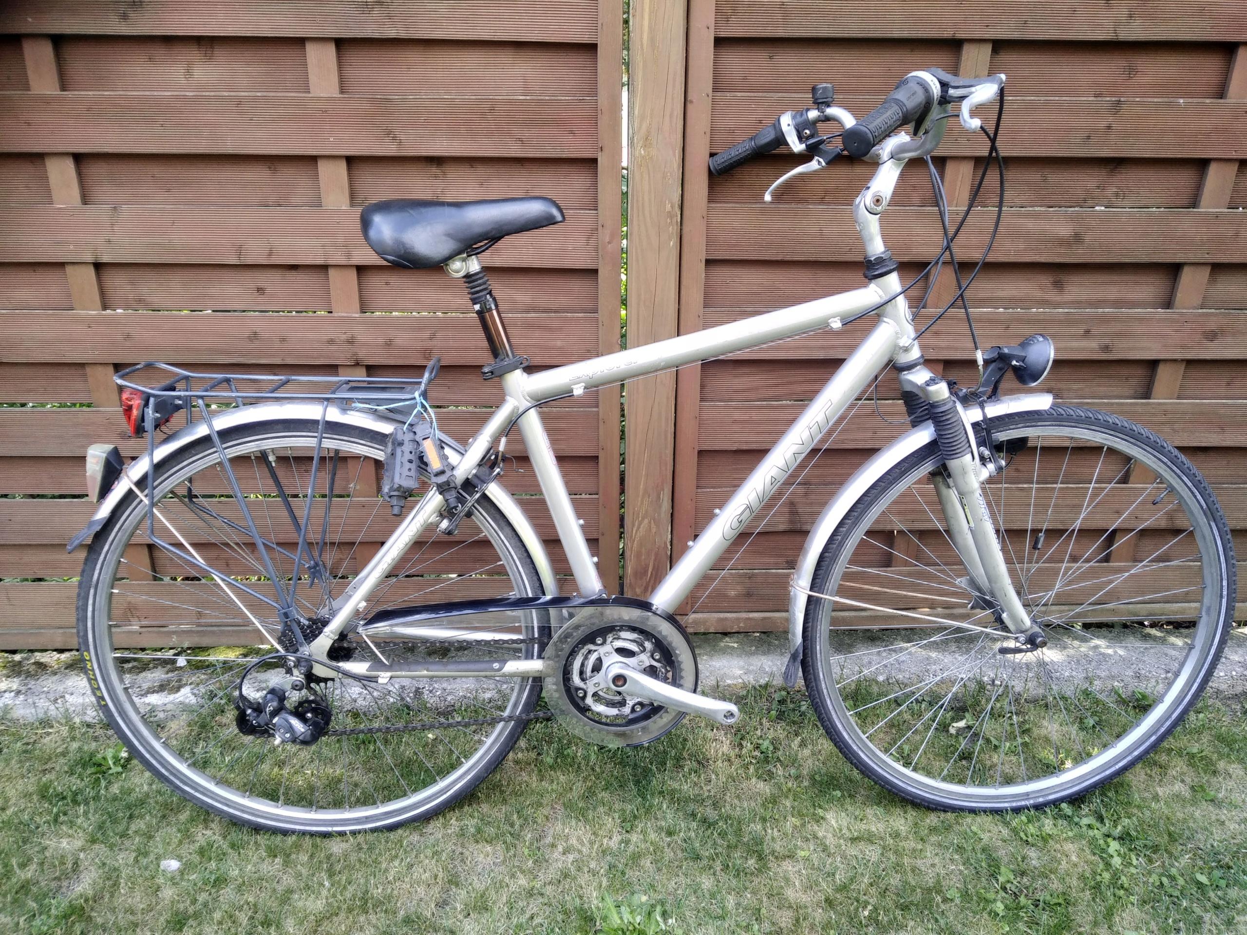 Aluminiowy rower Giant Explorer 28 cali