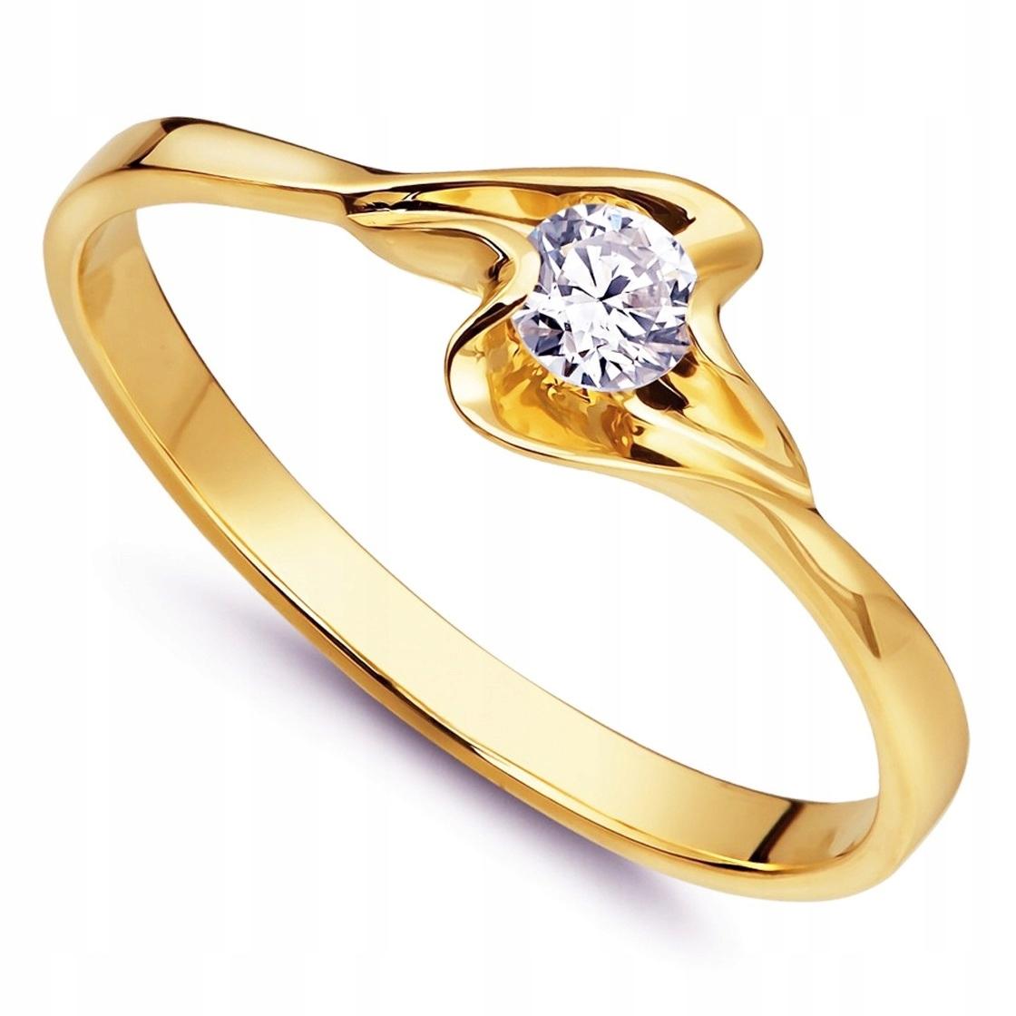 Piękny pierścionek ze złota pr.585 od Jubilech