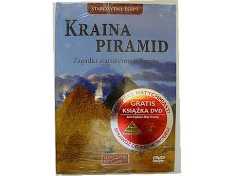 Kraina piramid DVD + książeczka -