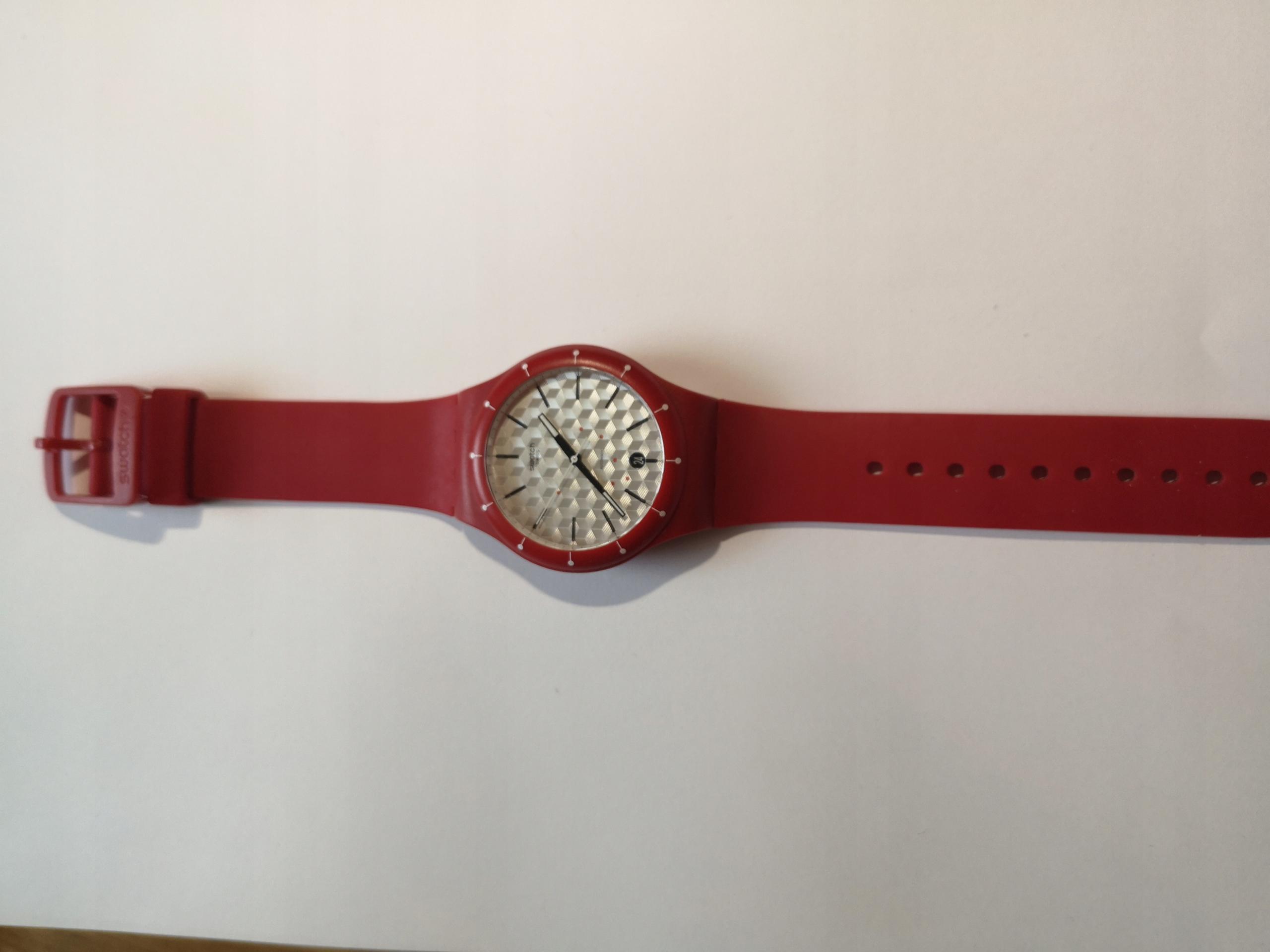 Zegarek młodzieżowy Swatch