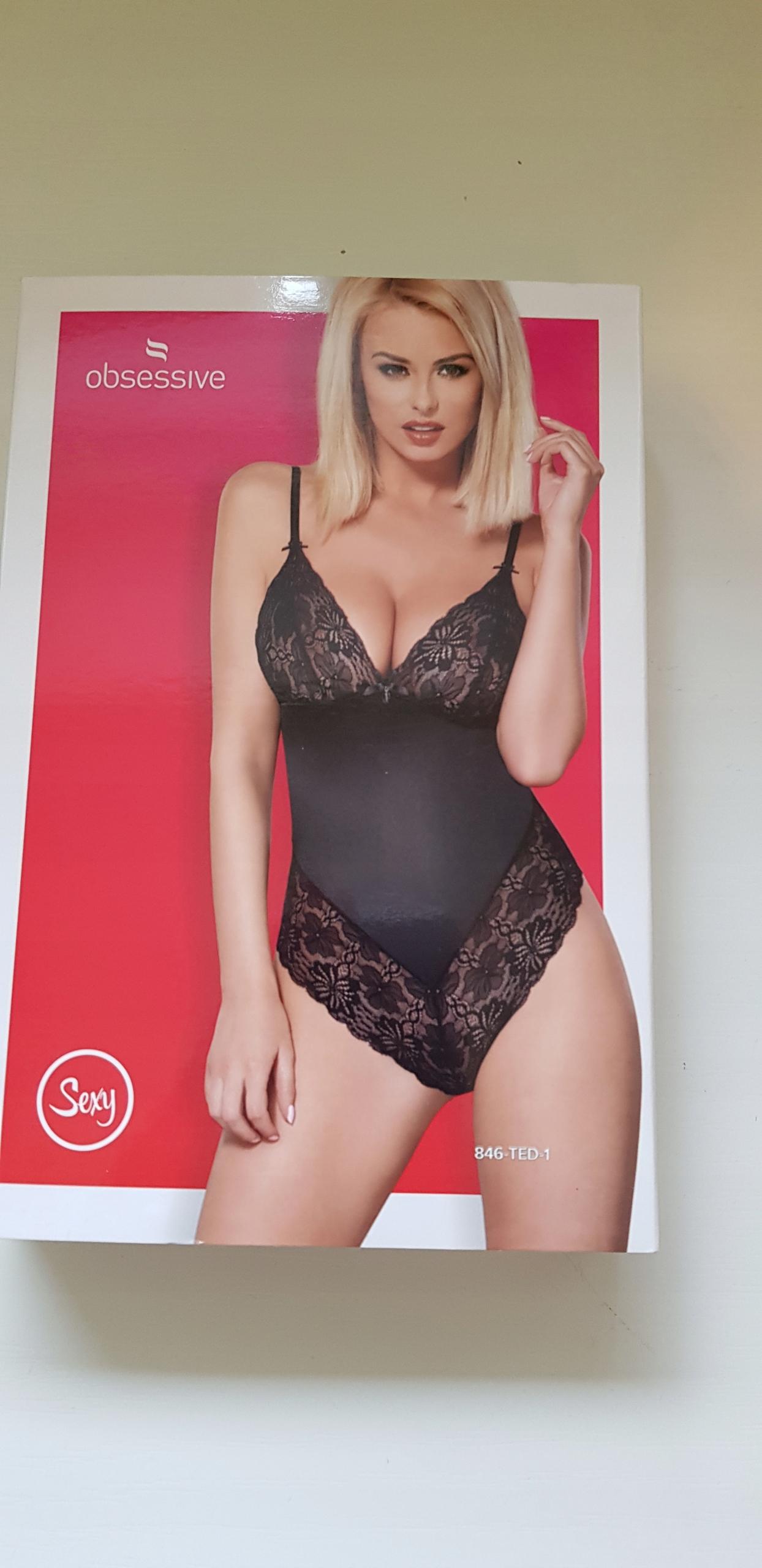 Body Obsessive l/xl czarne sexy