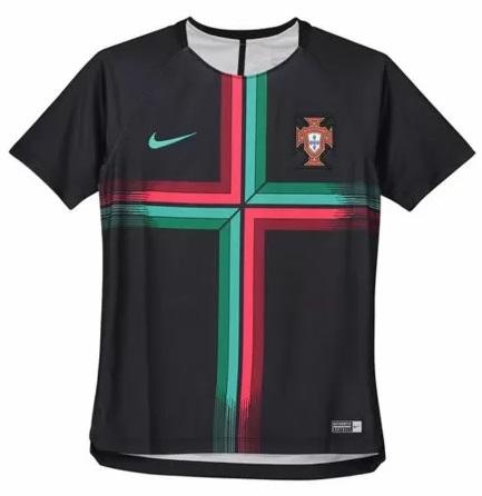 Koszulka przedmeczowa Nike Portugalia JR 152-158