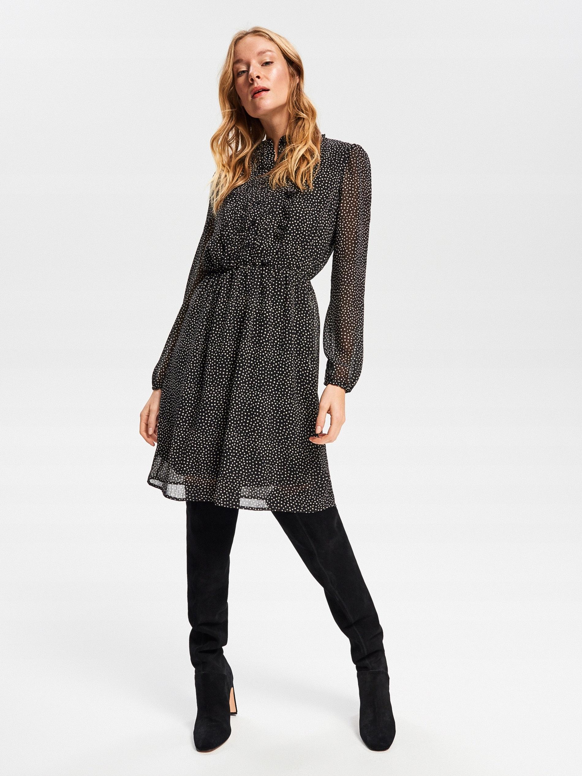 Sukienka w kropki Reserved 36 S