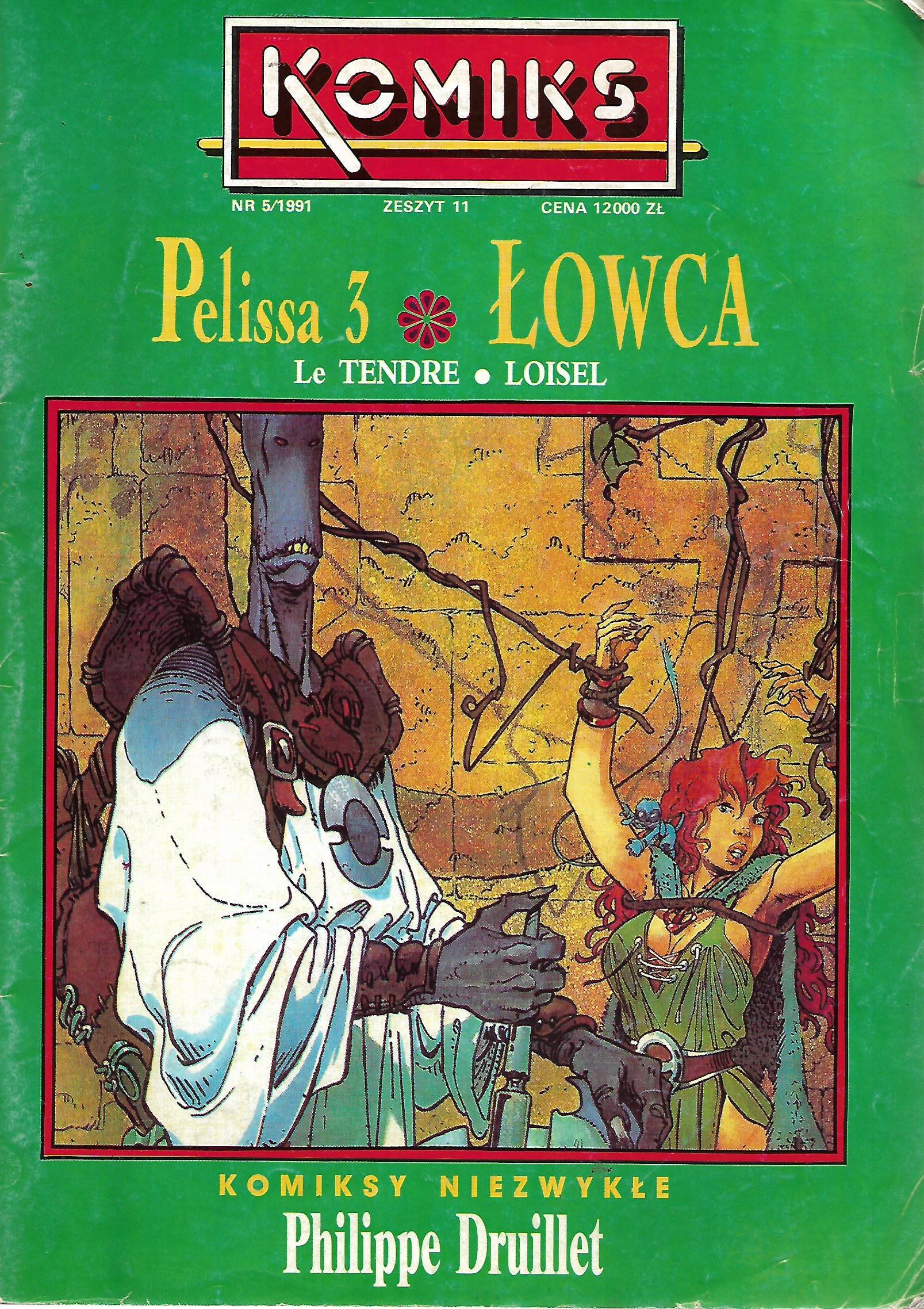 ! ŁOWCA PELISSA 3 KOMIKS