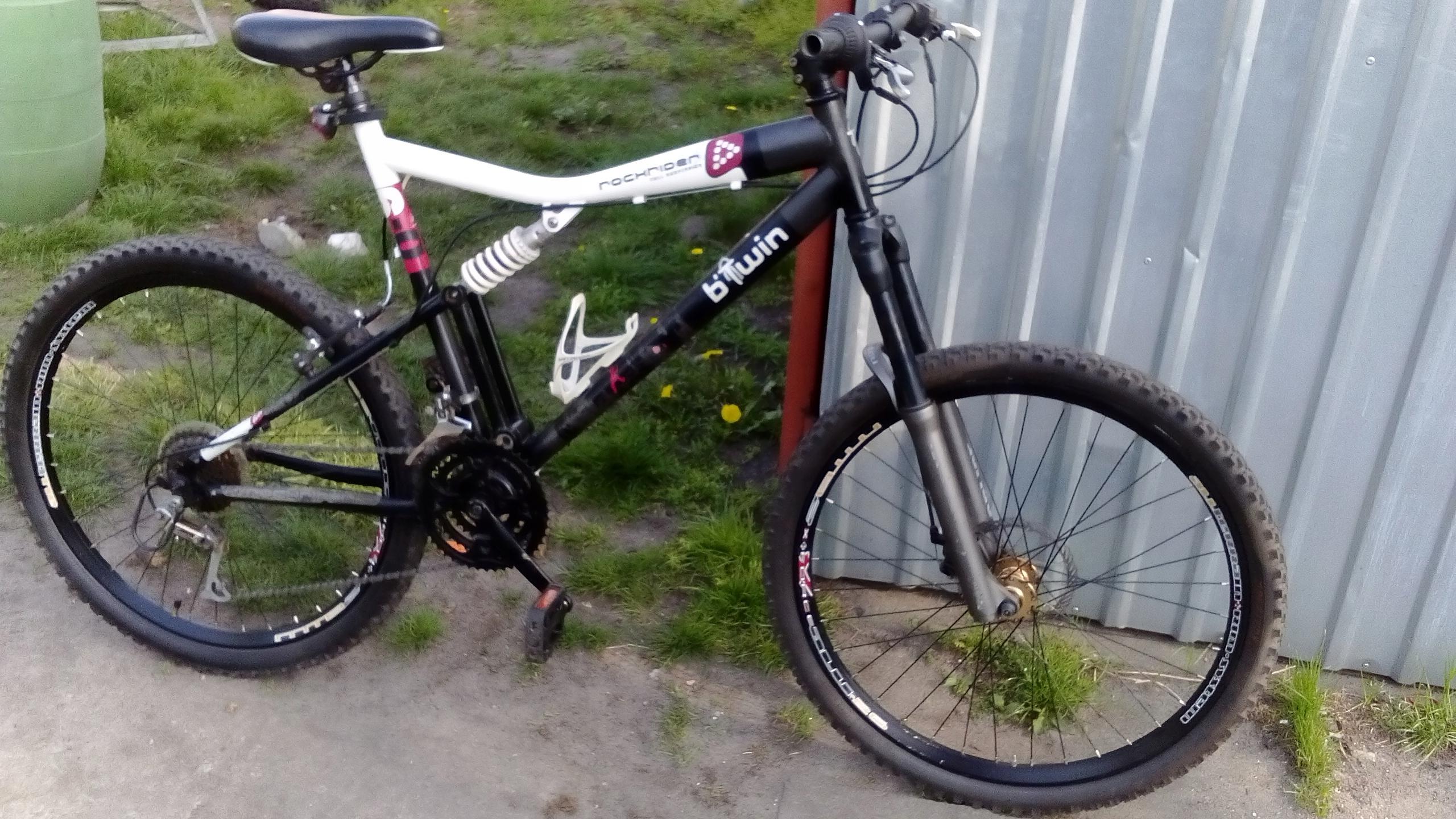 Rower downhill Manitou koła 26' full amortyzowany
