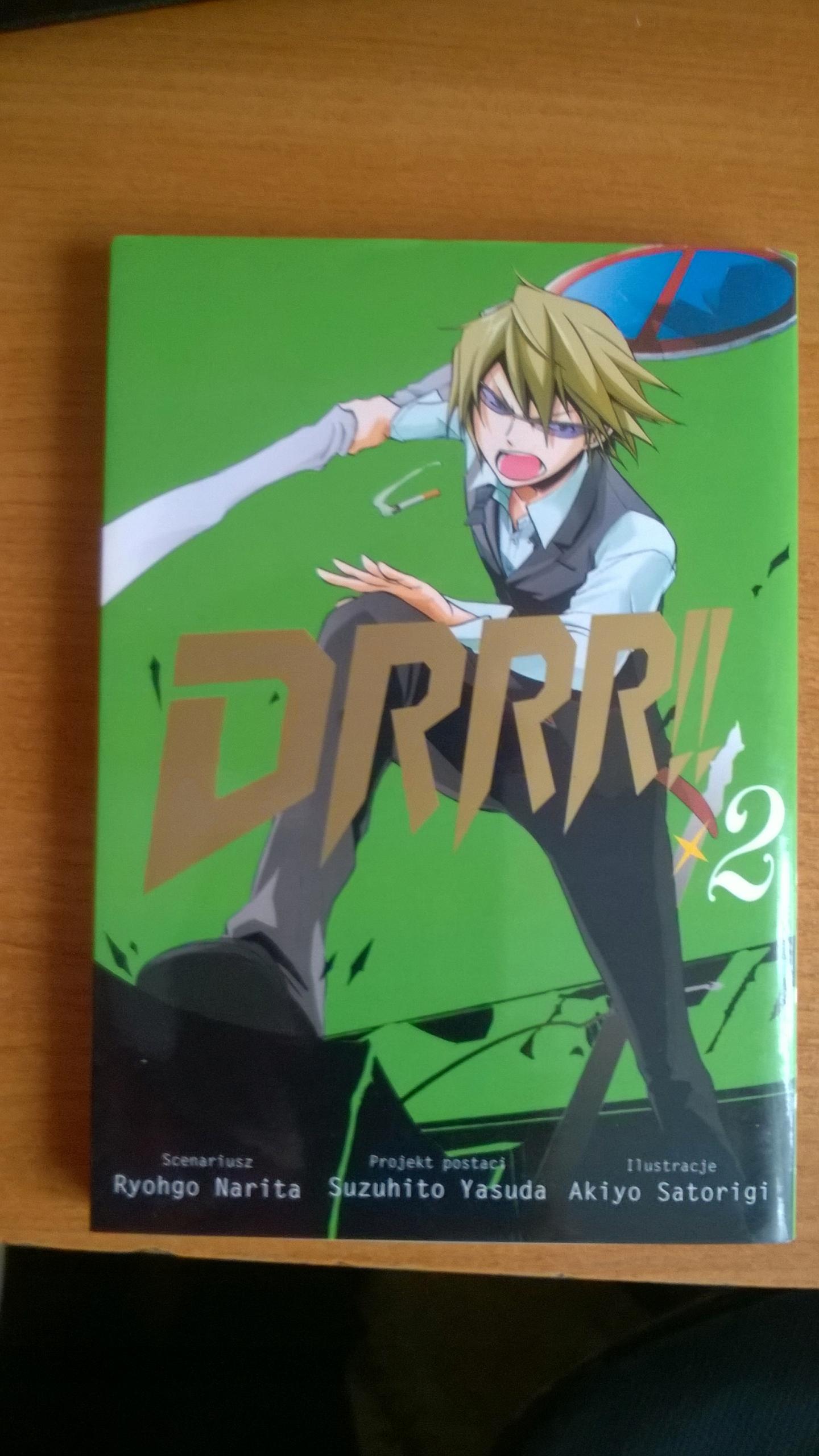 Manga: DRRR!! 2. TYOHGO NARITA