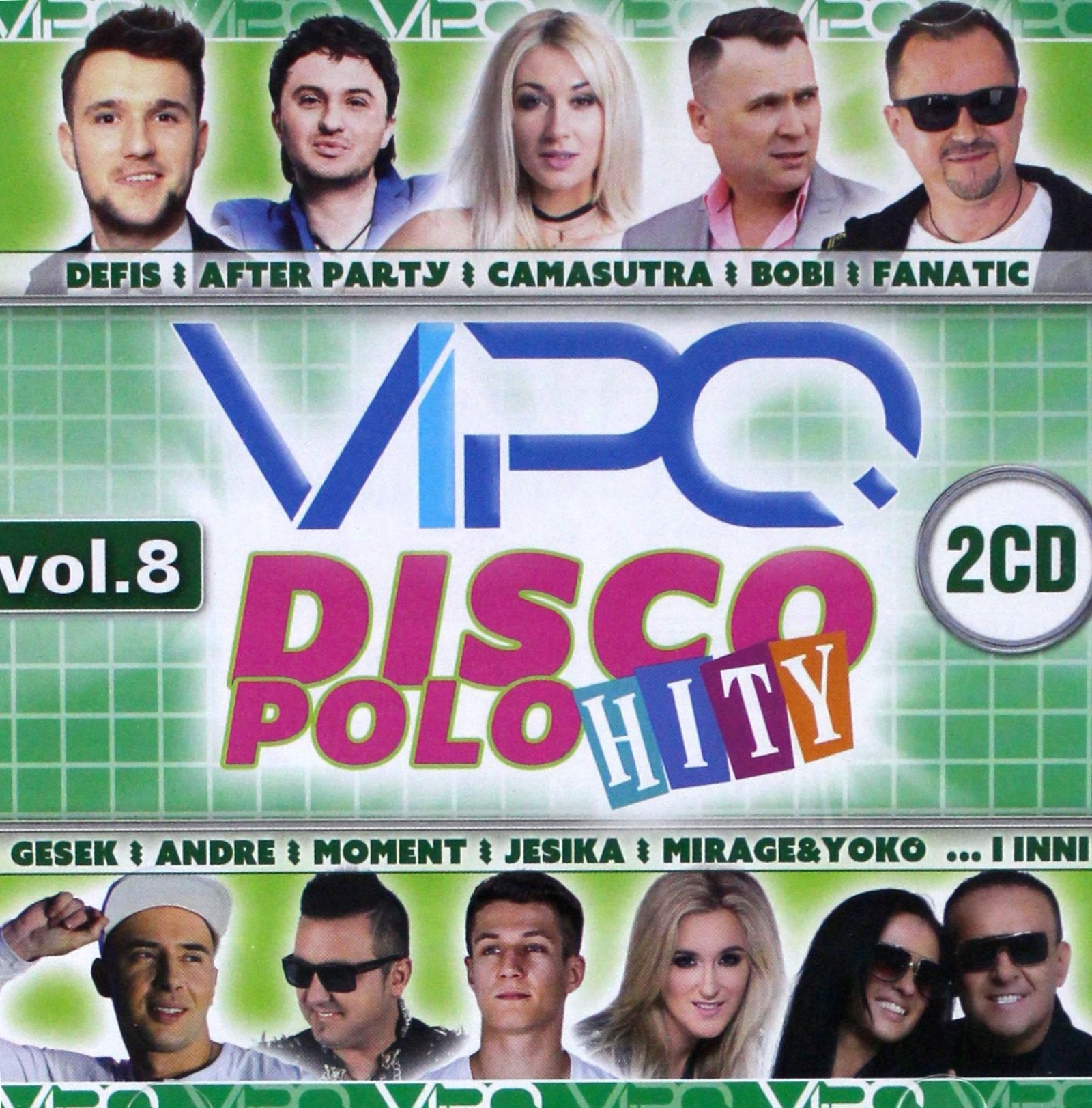 VIPO DISCO POLO HITY VOL. 8 (2CD)