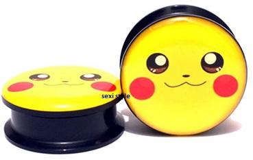 TUNELE PLUGI TUNEL PLUG Pikachu 10 mm