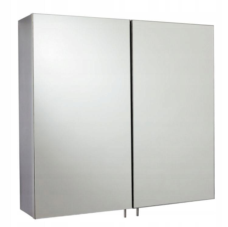 Fonteno Podwójna szafka łazienkowa z lustrem