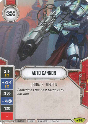 Star Wars Destiny - Auto Cannon (ENG)
