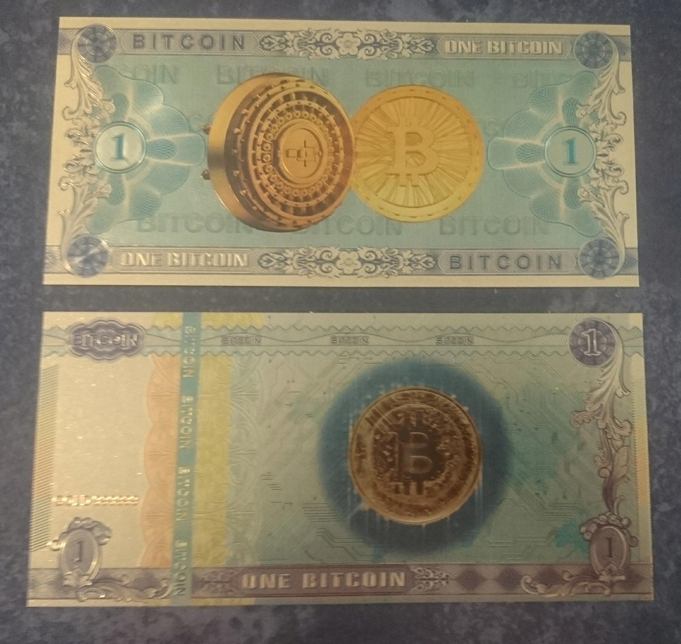 Banknot Bitcoin