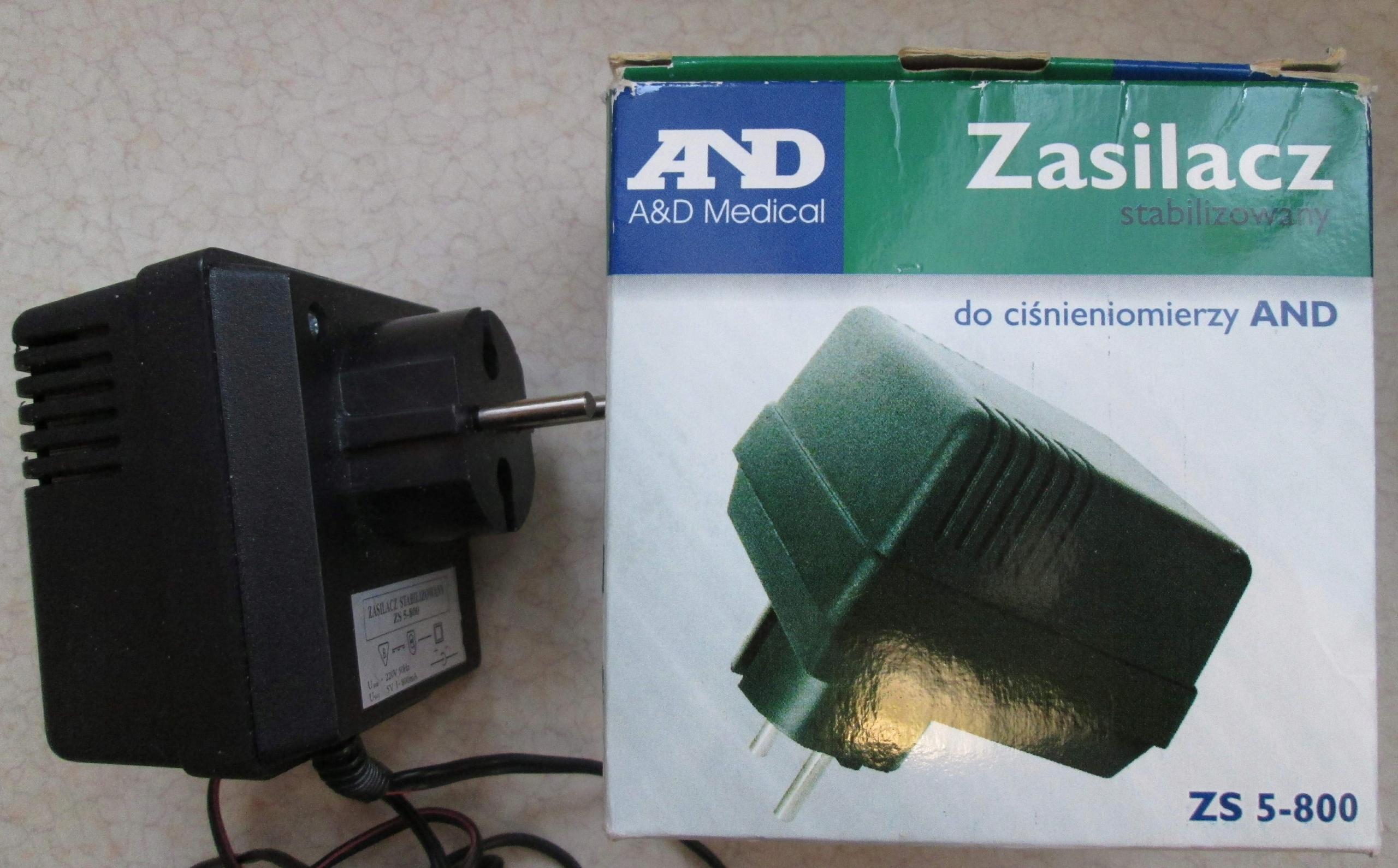 Zasilacz stabilizowany ZS5-800 - 5v/0.8A
