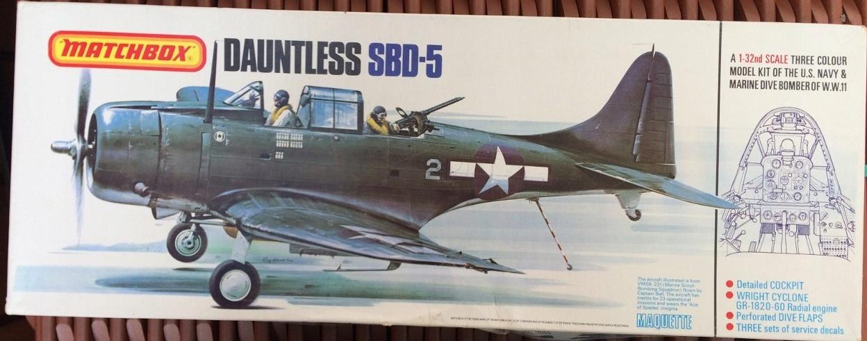 Matchbox Dauntless SBD-5
