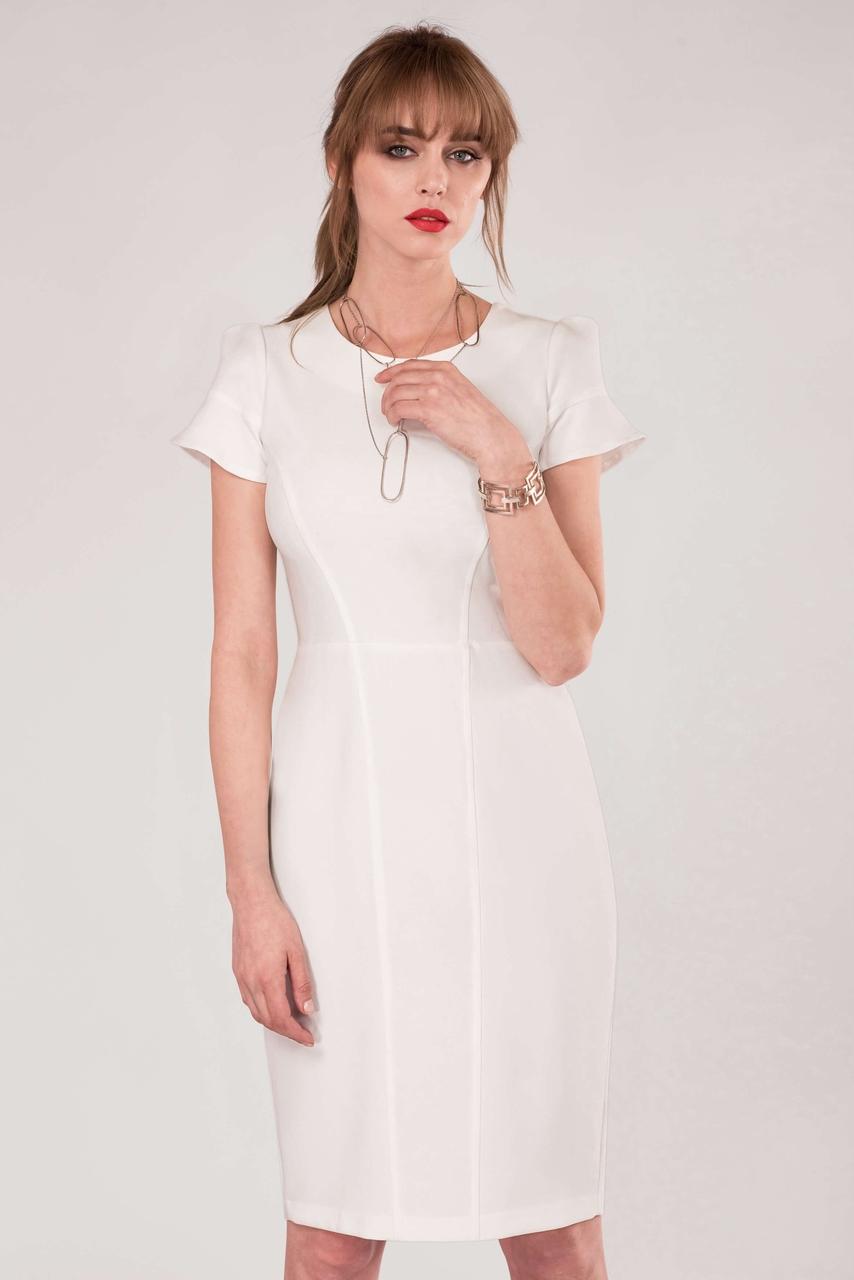 sukienka biała bodycon CLOSET 40 L tuba