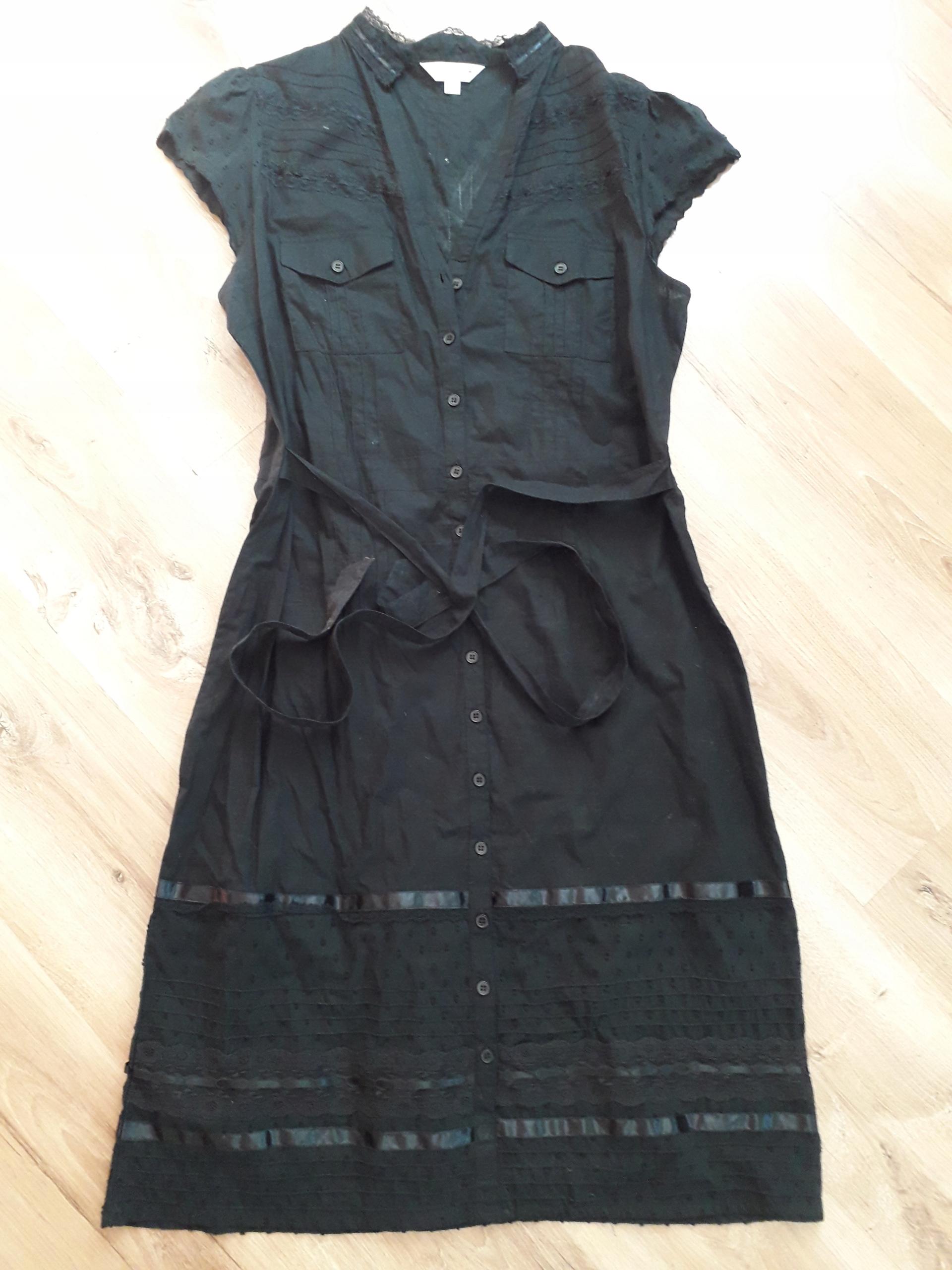 NEXT elegancka czarna sukienka roz. 44/46