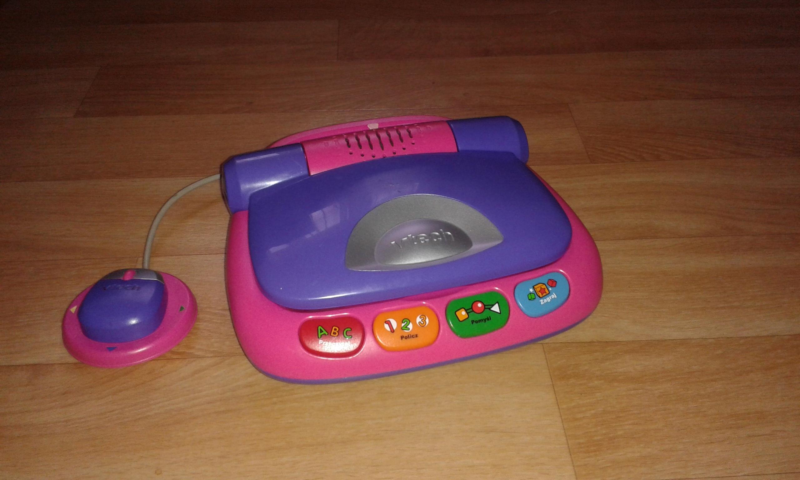 Mój pierwszy laptop Vtech