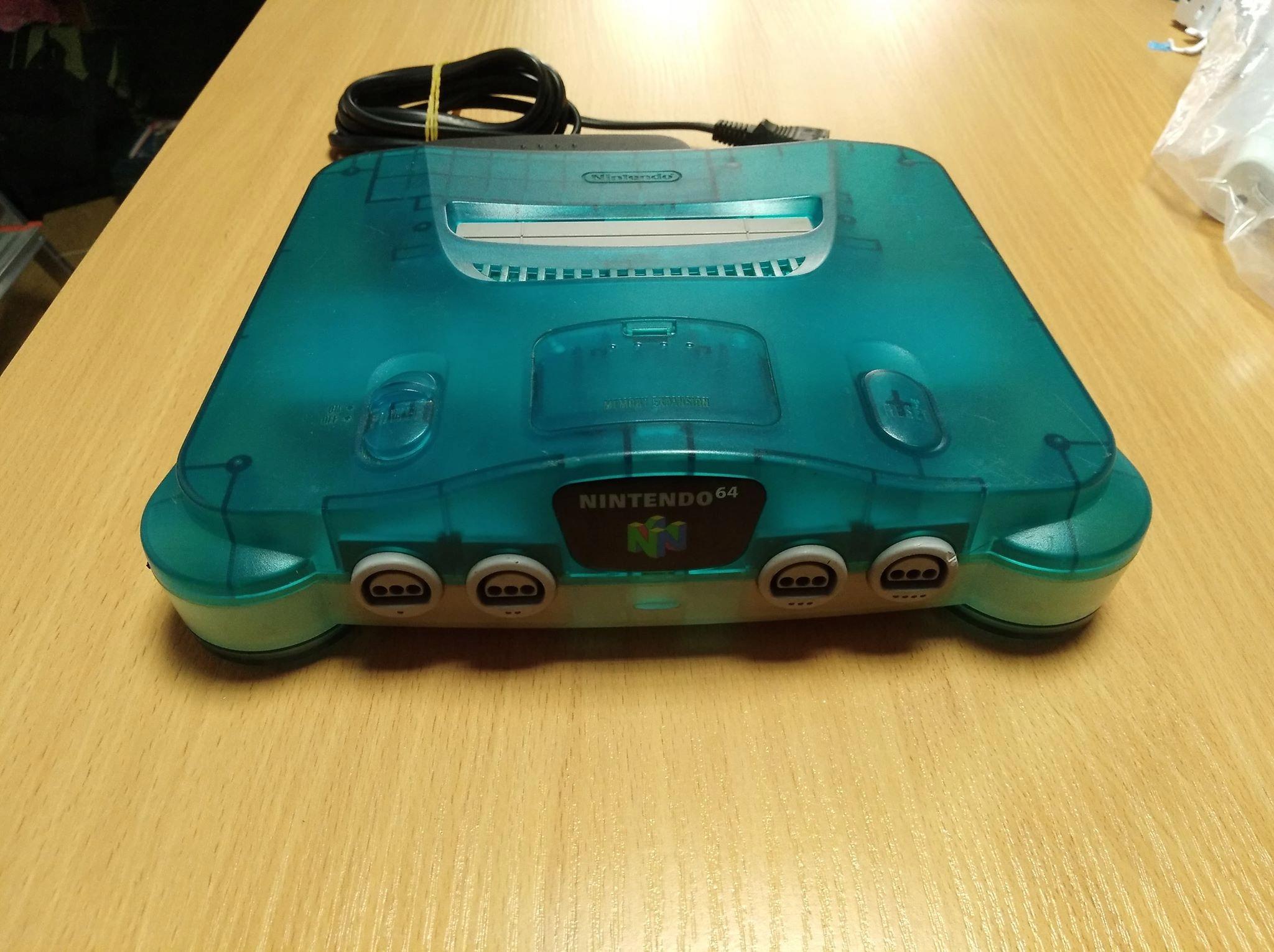 Nintendo n64 ICE BLUE PAL EU