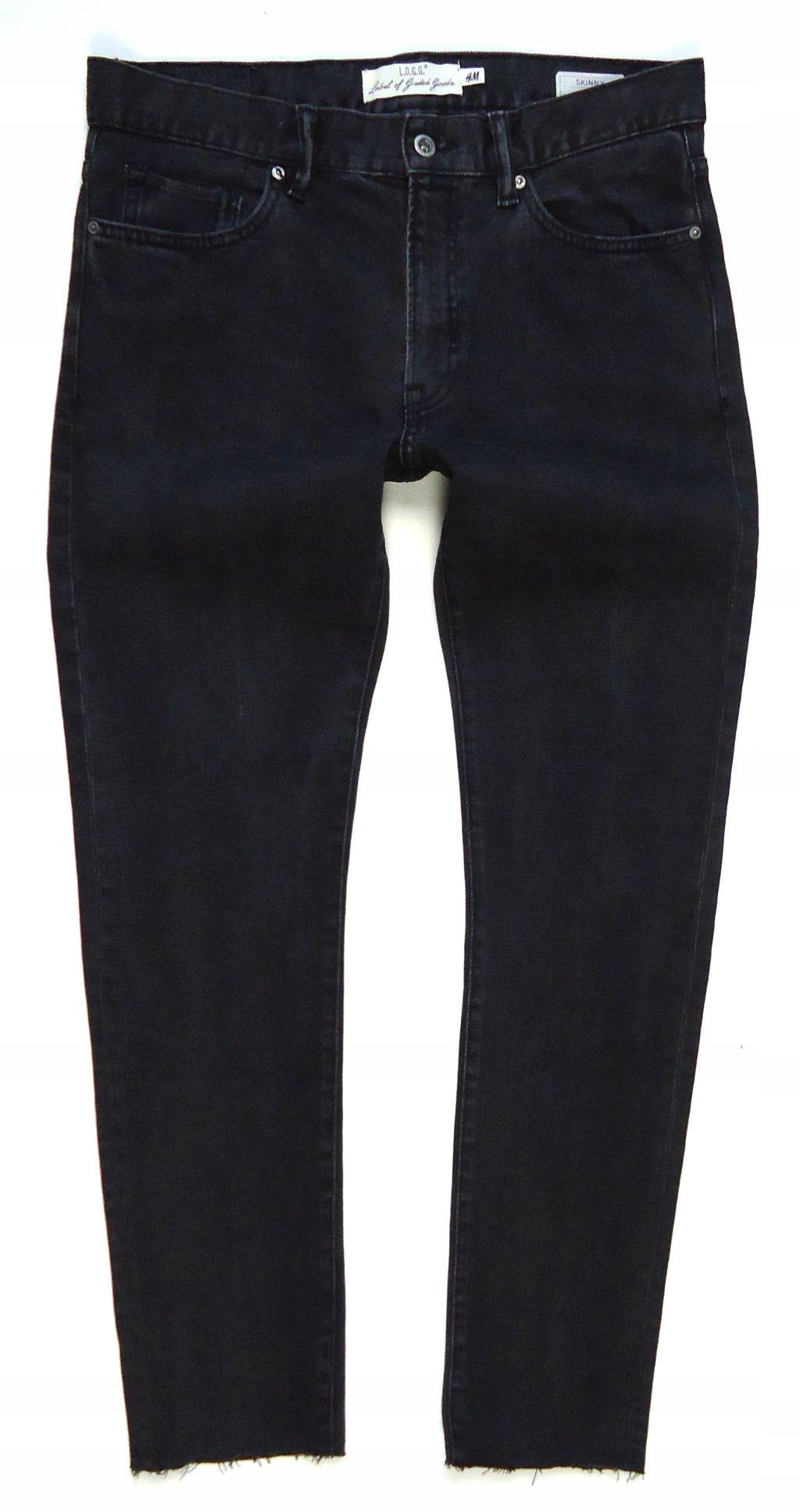 2416 H&M jeans rurki SKINNY FIT 32/32