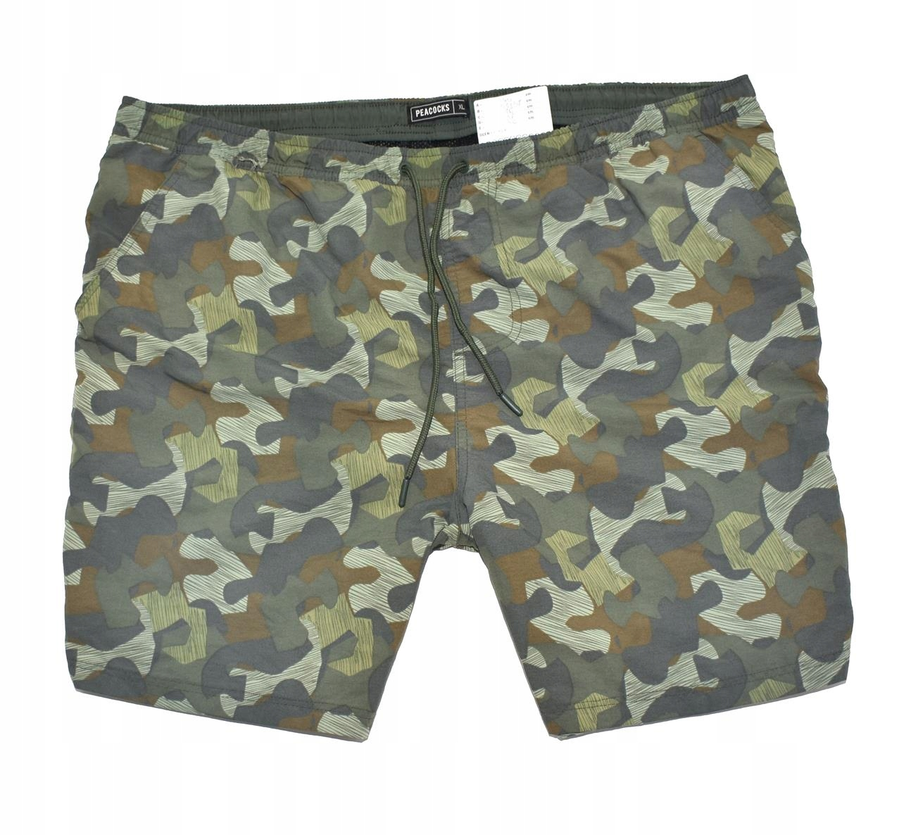 MM 149 PEACOCK_TRENDY MILITARY MORO SHORTS_XL