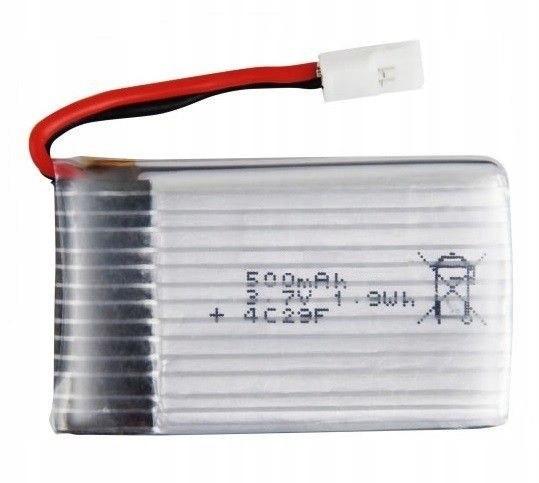 500mAh 3.7V LiPo do X5-11/X5C-11