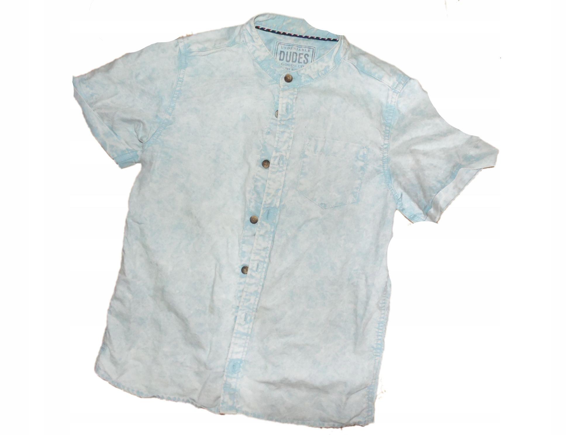 koszula dzins 140 stan bdb wyprzedaż