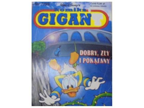 komiks Gigant. dobry, zły i pokąsany - 1999