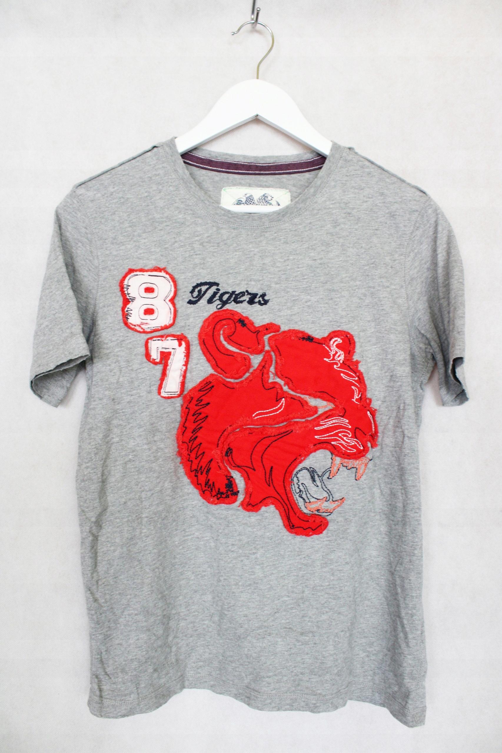Koszulka t-shirt chłopięcy szary 13-14 lat X9