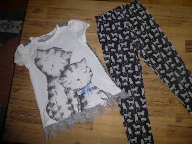 Komplecik bluzeczka i legginsy Coccodrillo 116