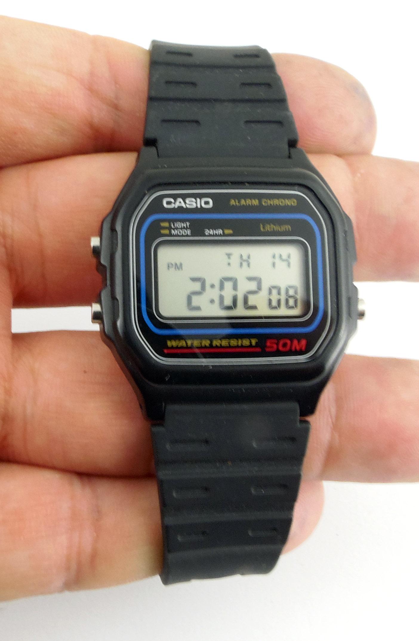 CASIO W59 - zegarek używany vintage