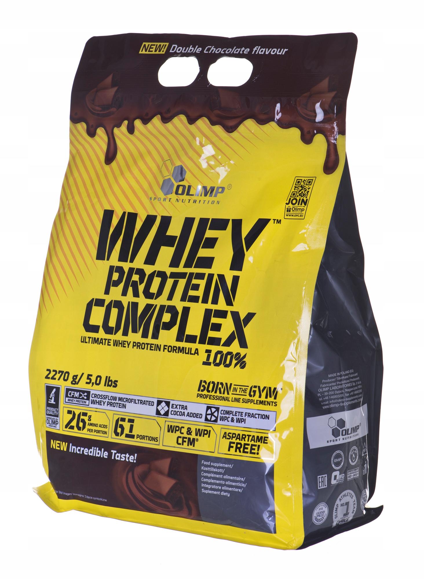 Olimp Whey Protein Complex 100% Bag (2,27kg czek2)