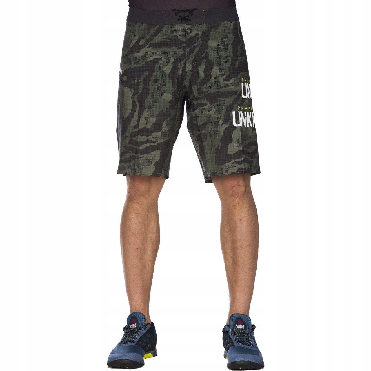 REEBOK RCF SN CORE CAMO CANG ~32''~ Męskie Spodnie