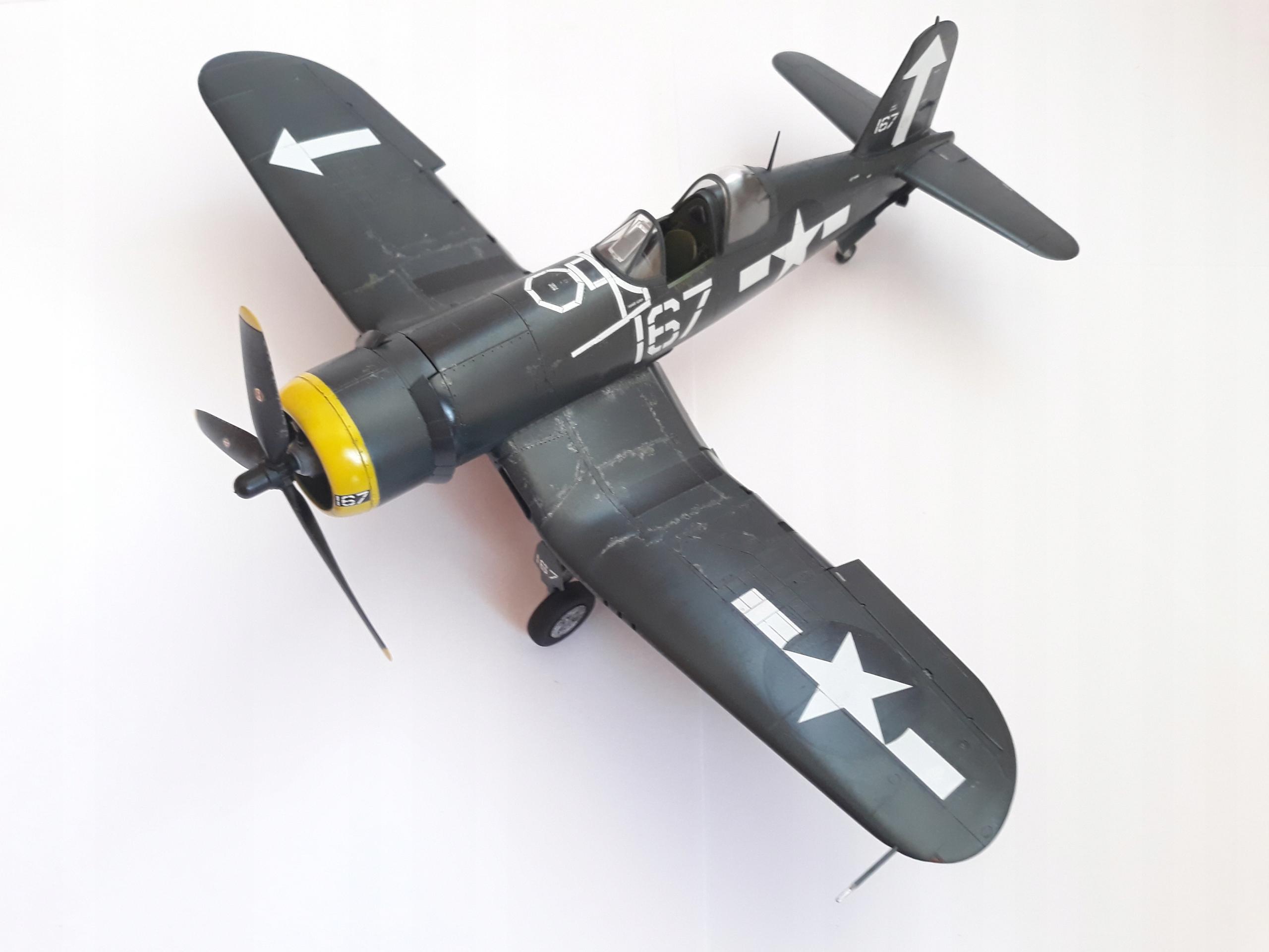 F4U-1D Corsair 1:48 Tamiya gotowy