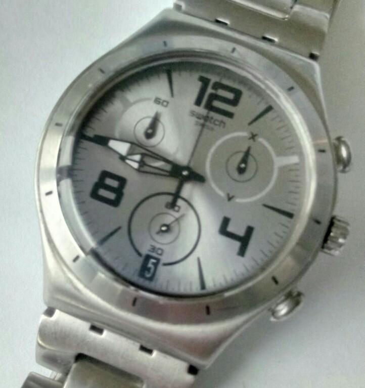 swatch irony chrono DOWN GREY (YCS566G)