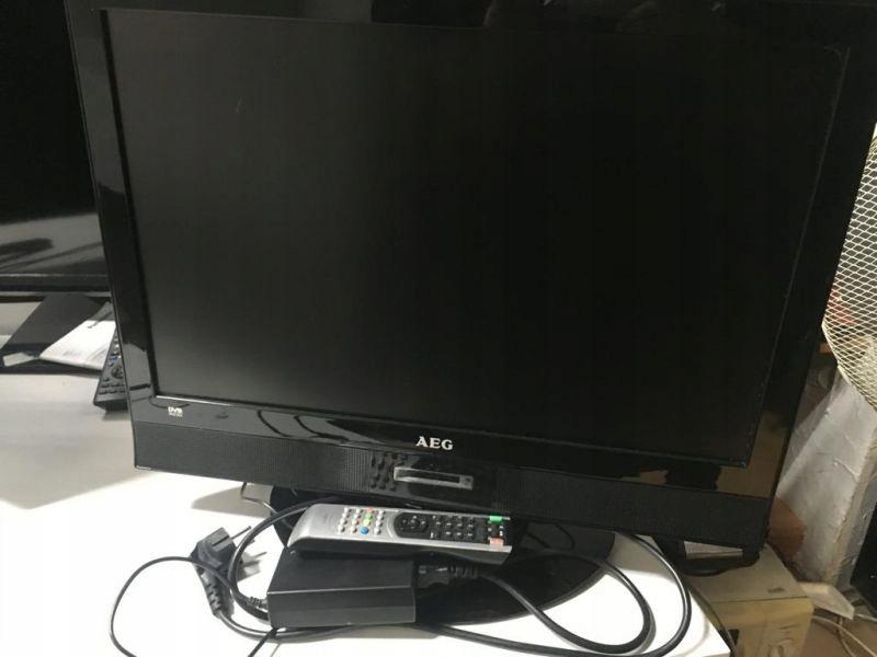 MONITOR Z FUNKCJĄ TV LCD 12 AEG 4866