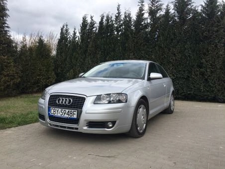 Audi a3 8P 1.9 TDI srebrny klima
