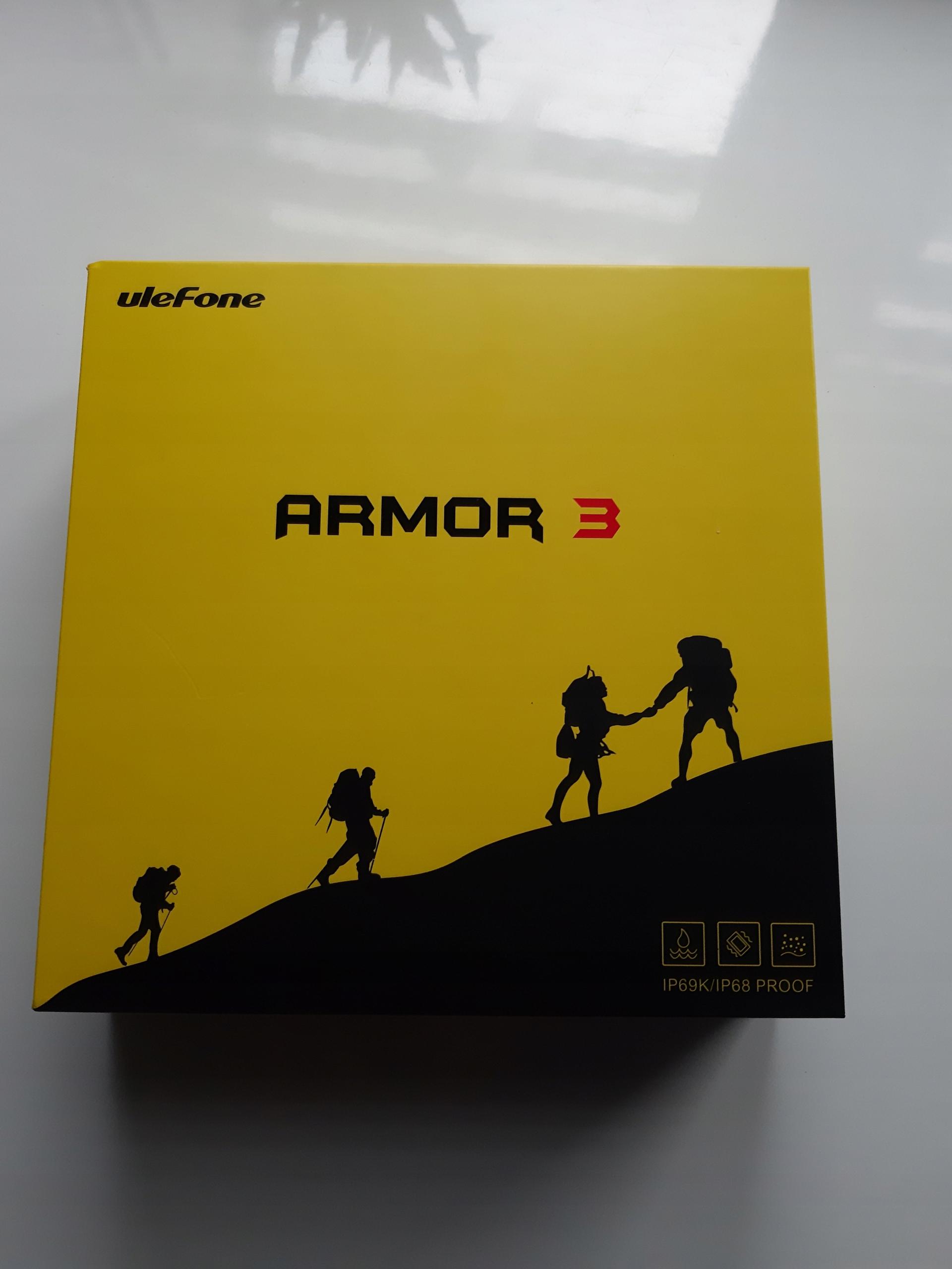 Ulefone Armor 3 64 GB szary. Jak nowy