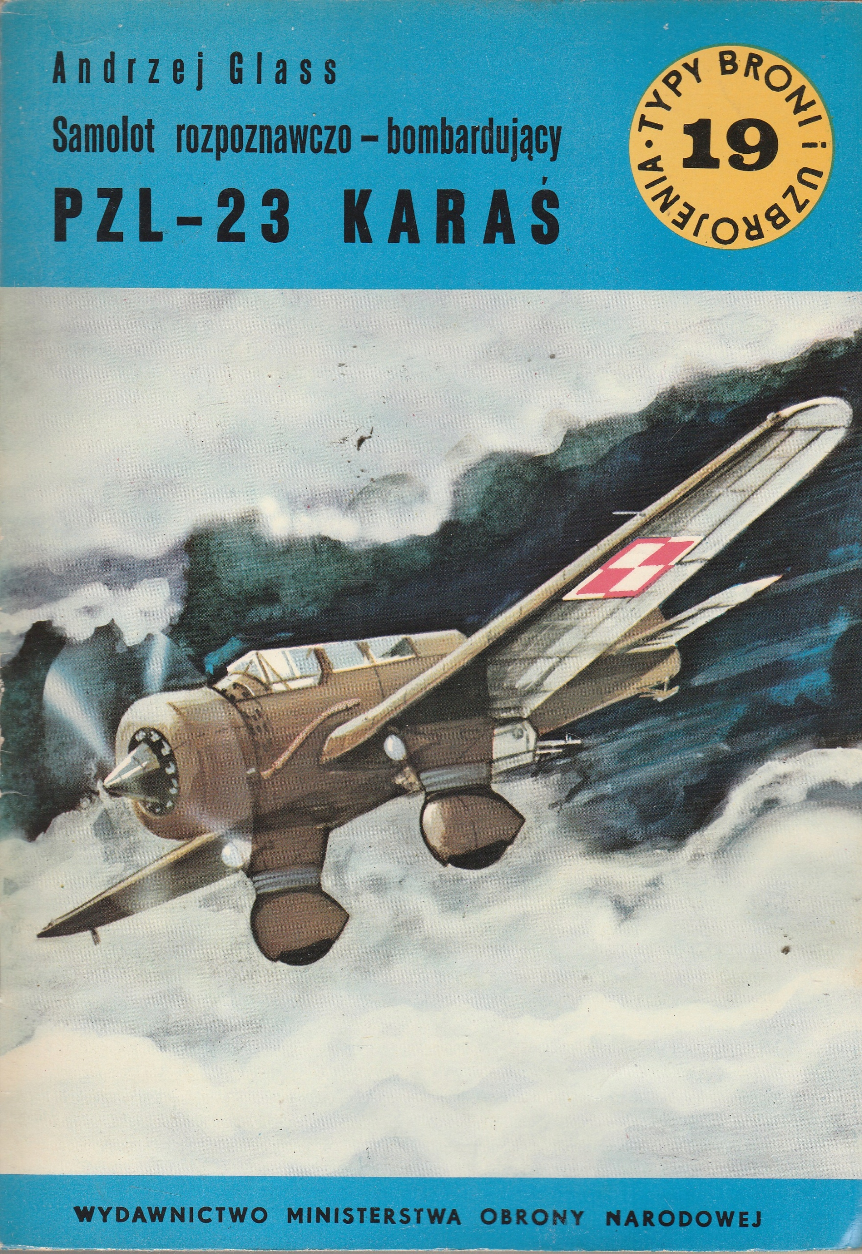 TBiU nr 19 Samolot rozpoznawczo bąbardujący PZL-23