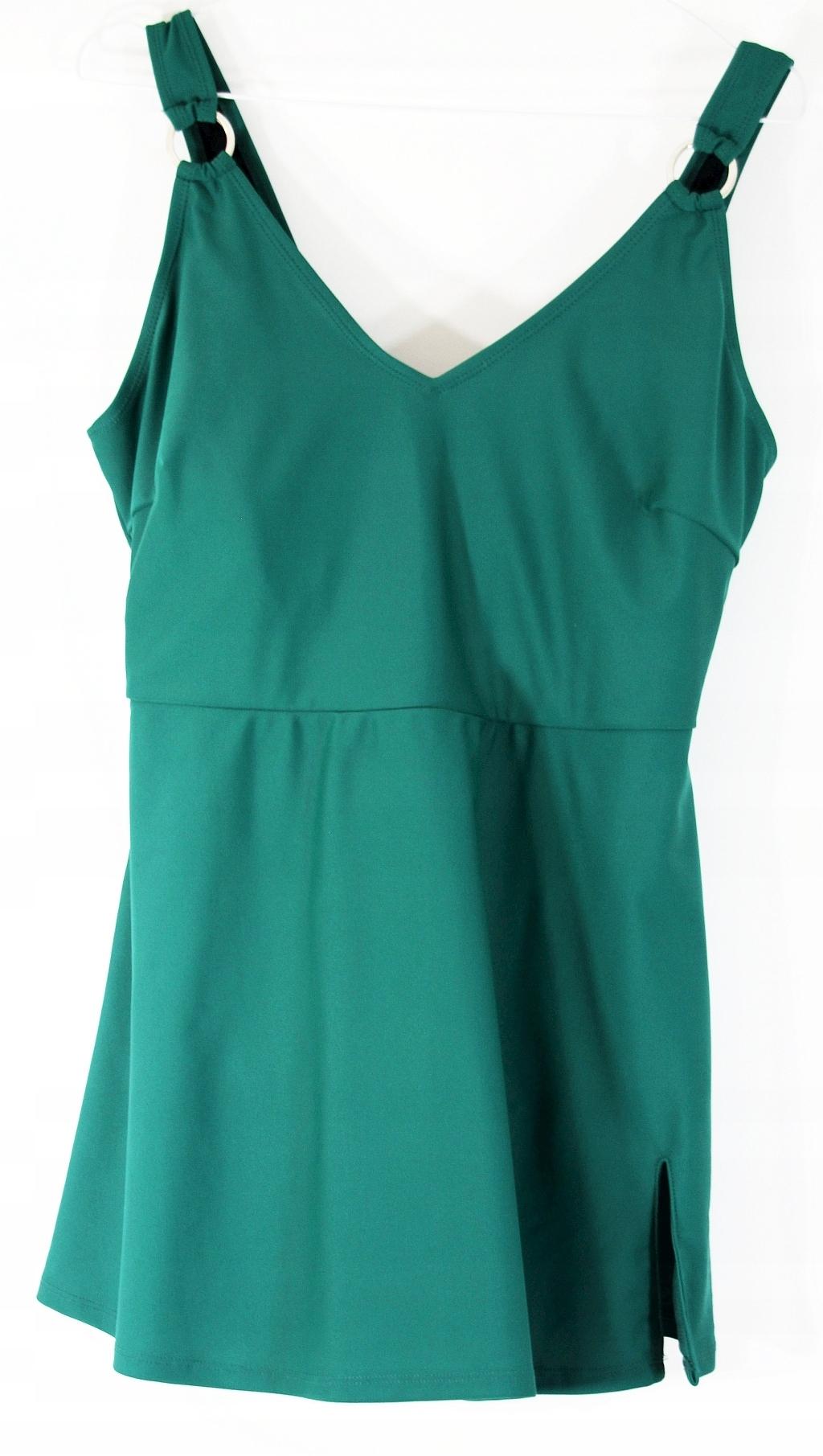 Kostium kąpielowy zielony sukienka R 46/48