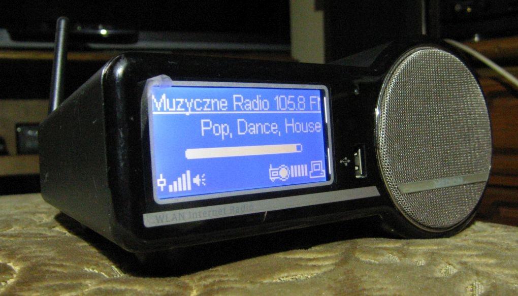 MEDION MD-85651 TUNER INTERNETOWY FM ZŁĄCZE USB