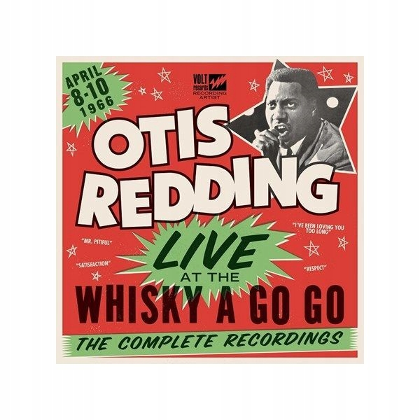 Otis Redding - Live at The Whisky A Go Go (LP)